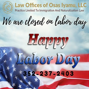 Happy Labor Day 2019!
