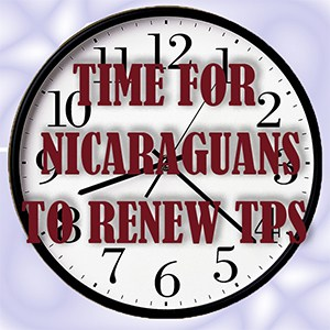 2016 EXTENSION OF TPS STATUS FOR NICARAGUA