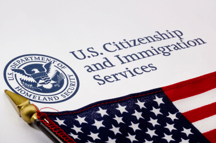 U.S Online Immigration Application System.